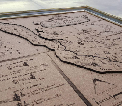 Разработка и производство подарочной карты региона Бордо. Стоимость аналогичной работы от 80000 руб.
