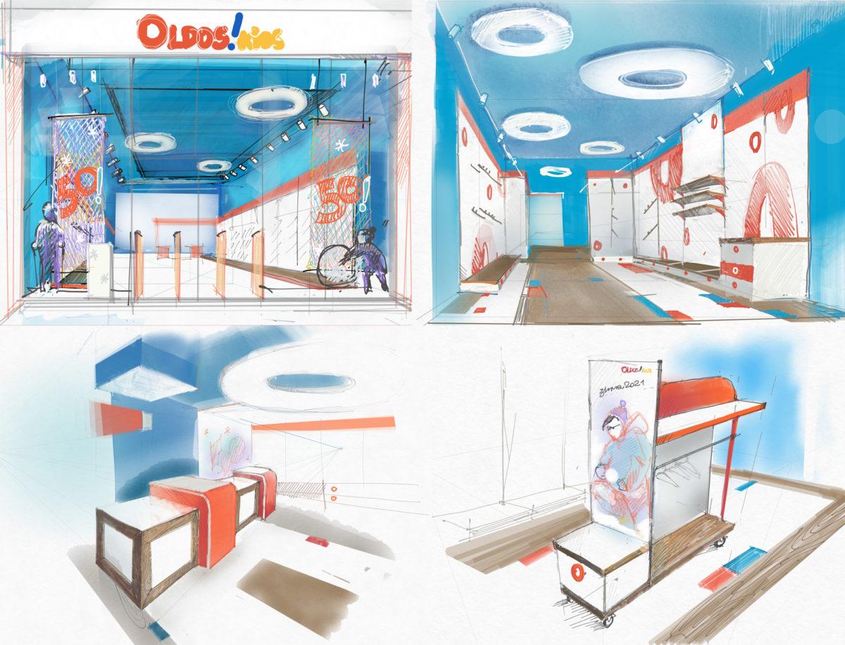 Разработка концепции розничного магазина