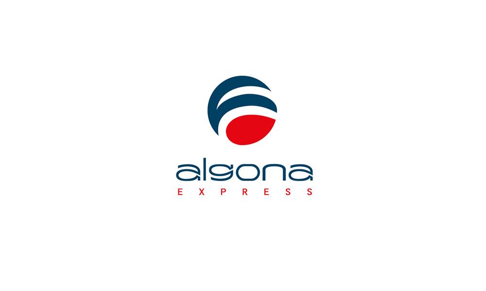 Логотип Algona Express
