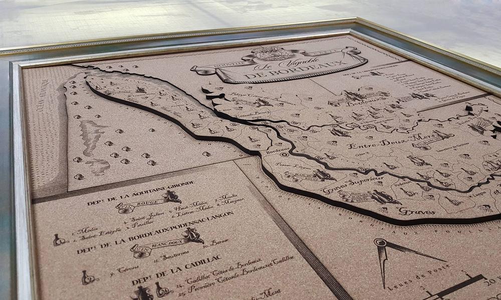 Разработка, дизайн, верстка, производство подарочной карты региона Бордо