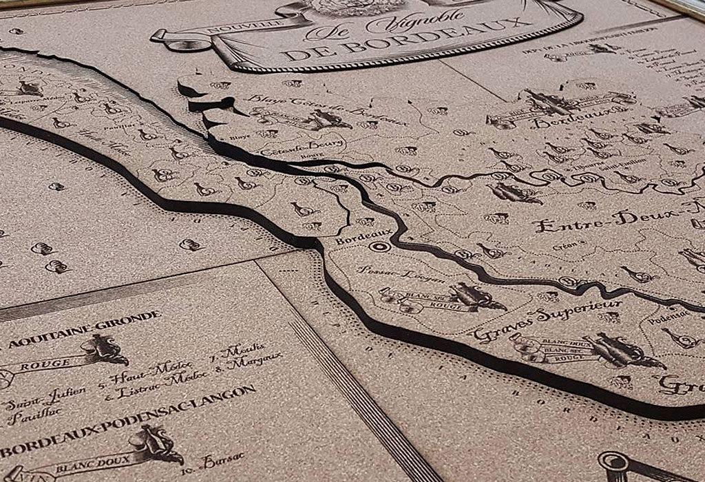 Карта вин региона Бордо - бизнес-подарок