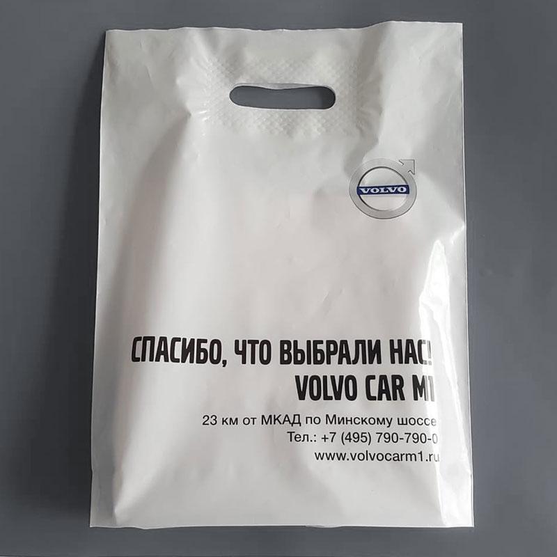 Фирменные пакеты - верстка и производство