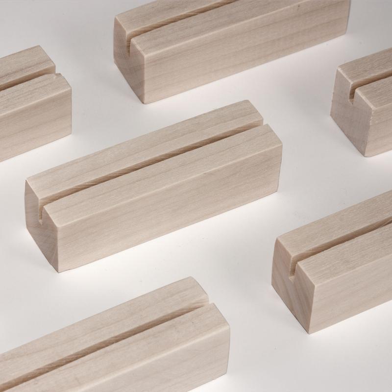 Набор подставок для табличек 70х20х20 мм (10 штук)